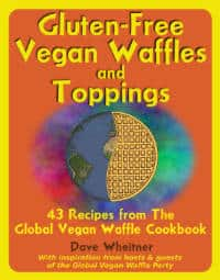 Gluten-Free Vegan Waffles and Toppings