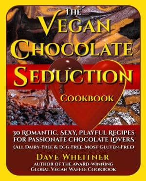 The Vegan Chocolate Seduction Cookbook cover