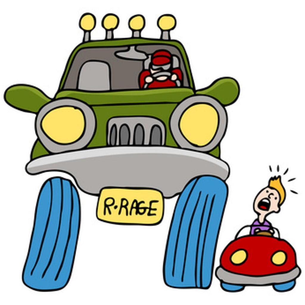 road rage driver