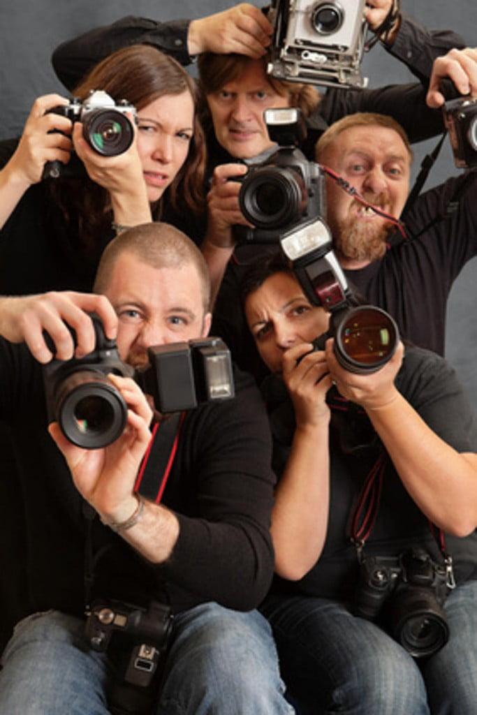 zealous press photographers