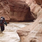 hiking through Paria River