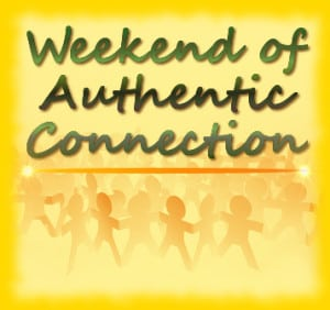 Weekend of Authentic Connection logo