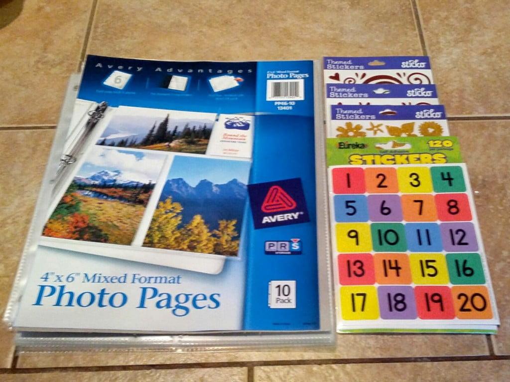 Birthday Gratitude & Dream Book optional materials