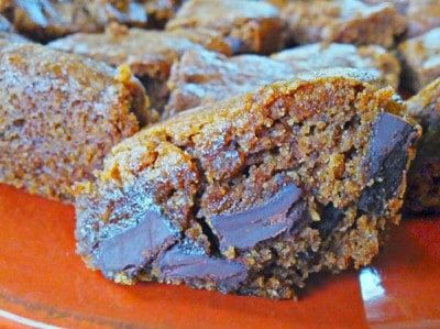 Chai Chocolate Chunk Spice Brownies