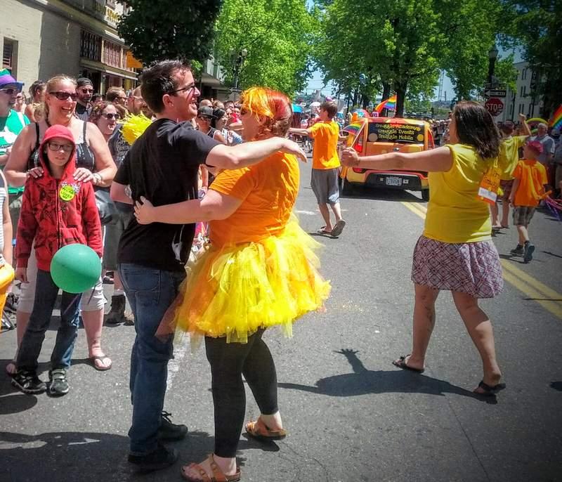 portland pride 2015 snuggle 5