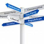 political party labels
