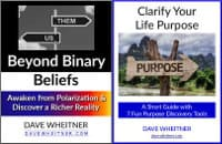 Beyond Binary Beliefs & Clarify Your Life Purpose covers